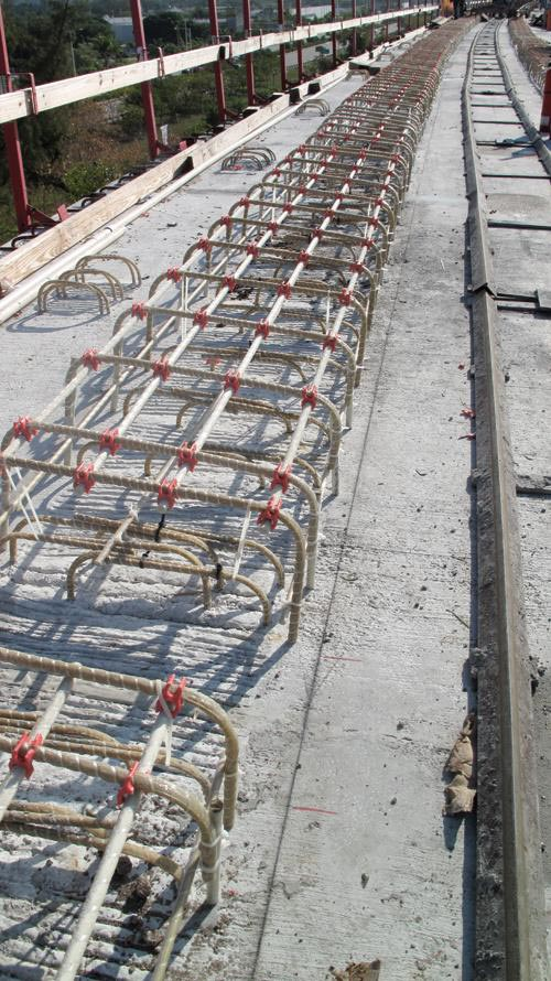 стеклопластиковая арматура при армировании линии метро Майами_1