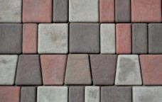 вибролитая тротуарная плитка брук римская мостовая-1