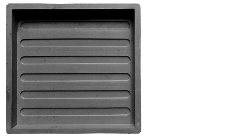 Пластиковая форма для изготовления тротуарной плитки «Тактильная плитка «Зебра»»