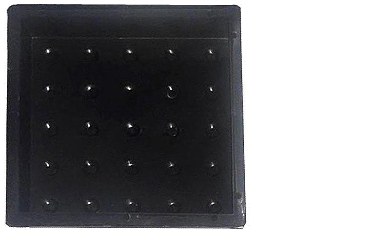 Пластиковая форма для изготовления тротуарной плитки «Тактильная плитка «Сфера»»