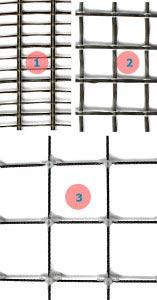 разновидности композитной строительной сетки из базальта. Базальтовая строительная сетка