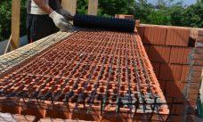 базальтовая сетка СБНПс-50(25х8), базальтовая сетка для керамических блоков, сетка Gridex для керамических блоков