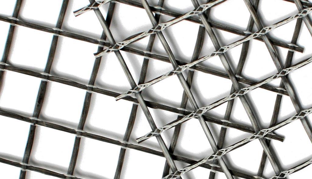 Базальтовые армирющие сетки для асфальтабетона