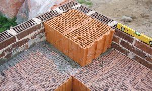 сетка для керамических блоков, кладка керамических блоков