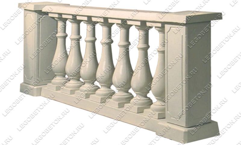 комплект форм бетонной балюстрады №1