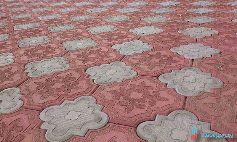 форма для плитки краковский клевер комплект