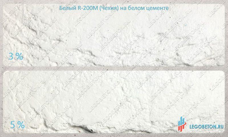 окраска белого бетона диоксидом титана Pretiox R200-m