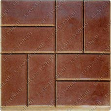 """форма для плитки квадрат """"8 кирпичей"""", форма для плитки """"8 кирпичей"""", тротуарная плитка квадрат """"8 кирпичей"""", каменных дел мастер, КДМ-1, тротуарная плитка без вибростола, набор для изготовления тротуарной плитки своими руками, тротуарная плитка своими руками"""