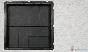 купить пластиковую форму для тротуарной плитки 8 кирпичей 30х30