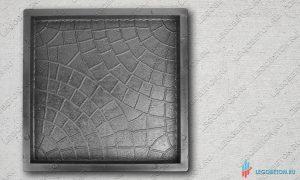 форма для тротуарной плитки квадрат мозаика (паутинка) 30х30 (71/6) купить в москве