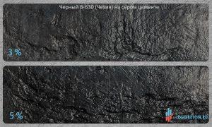 окраска серого бетона черным пигментом Fepren B-630 купить в Москве