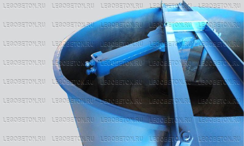роторный смесительный узел бетоносмесителя РПДВ-350