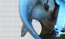разгрузочный люк растворосмесителя, люк нижней выгрузки раствора бетоносмесителя