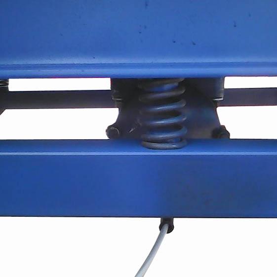 узел подвески вибростола вертикальной вибрации ВВС(Б)-04