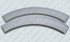 форма перила радиусные, форма перила радиусные из бетона