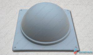 форма шар для крышки столба балюстрады