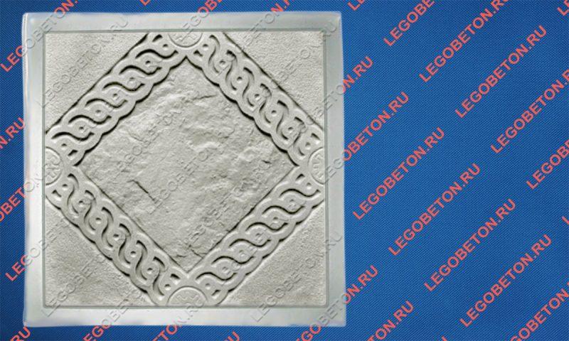 форма для плитки квадрат «Косичка»