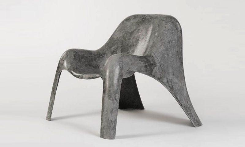 стул из угле-фибробетона-1