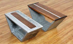 мебель из фибробетона, армирование архитектурного бетона углеволокном