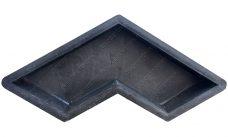 форма для плитки бумеранг гладкий купить