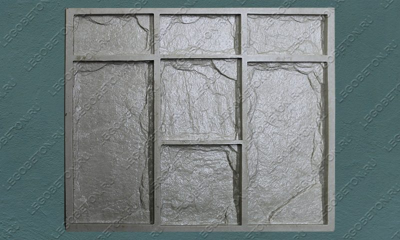 Форма для плитки под декоративный камень «Леон (большая -1)» LB040-02