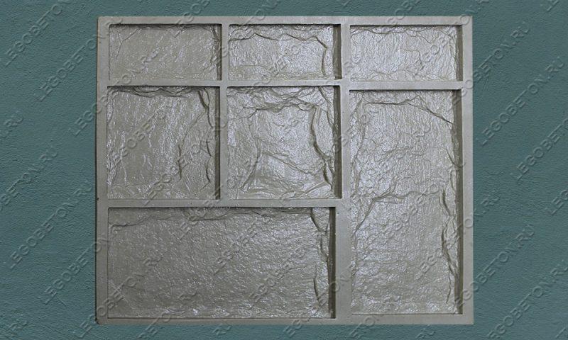 Форма для плитки под декоративный камень «Леон (большая -2)» LB042