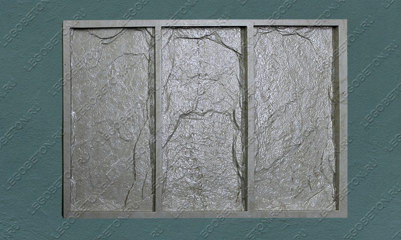 Форма для плитки под декоративный камень «Леон (малая -2)» LB043