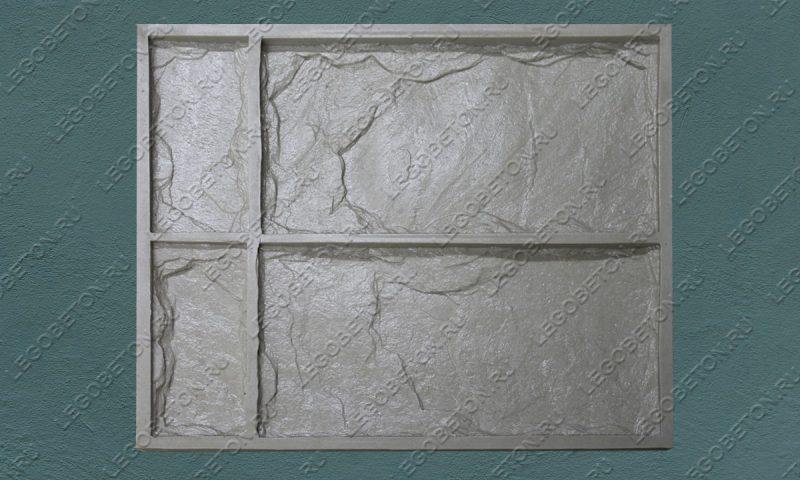 Форма для плитки под декоративный камень «Леон (угол)» LB045-01