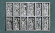 """форма для плитки под декоративный камень """"Акко - 1"""" купить,полиуретановая форма для плитки под декоративный камень """"Акко - 1"""" купить,форма для плитки под декоративный камень из гипса """"Акко - 1"""" купить,форма для изготовления плитки под декоративный камень """"Акко - 1"""" купить,гибкая форма """"Акко - 1"""" купить"""