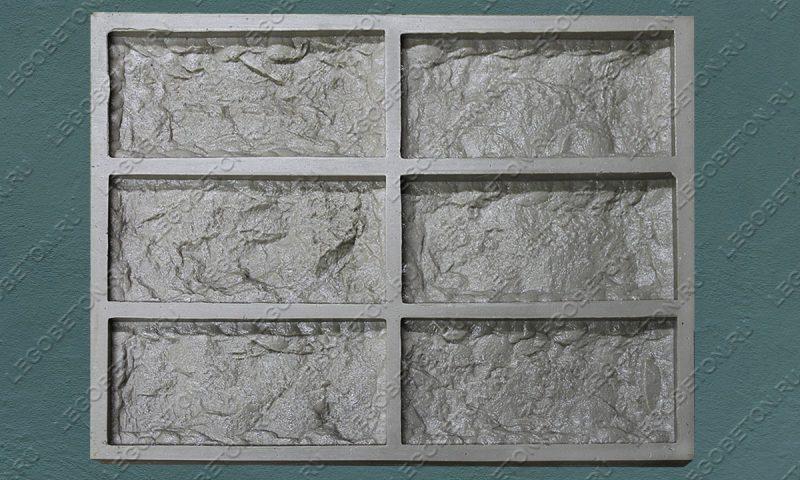 Форма для плитки под кирпич «Верона» LB080-02