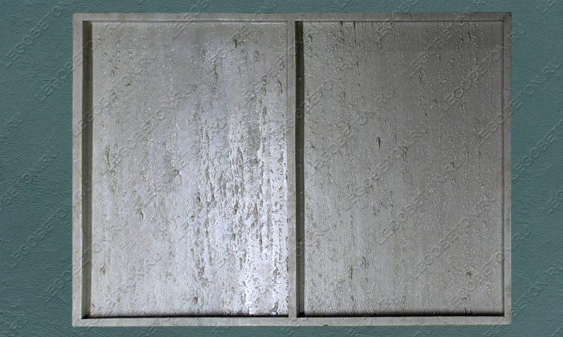 4.072. Форма для плитки под декоративный камень «Травертин — 2» LB091-01