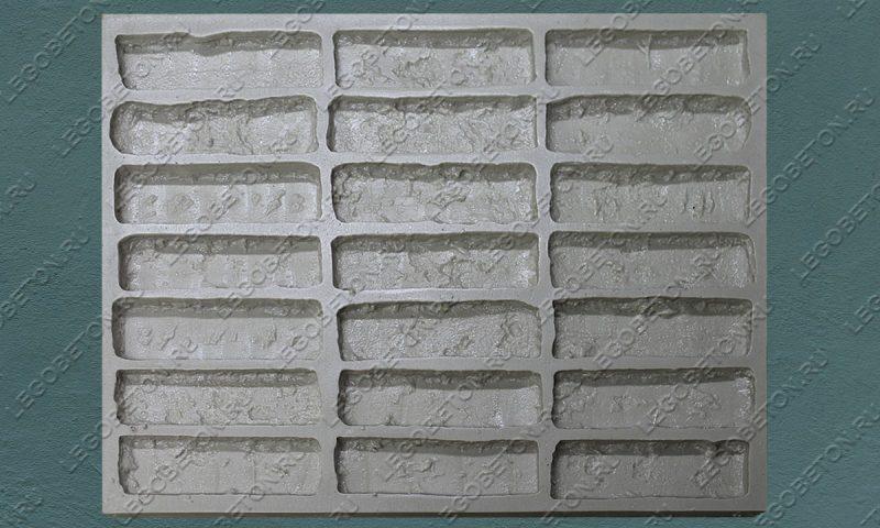 Форма для плитки под кирпич «Венеция» (большая)-02