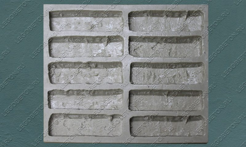 Форма для плитки под кирпич «Венеция» (малая)