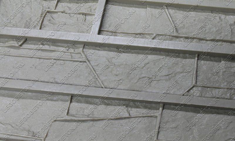 Форма для плитки под искусственный камень «Доломит (большая)» LB110-03