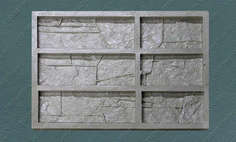 Форма для плитки под искусственный камень «Доломит (угол)» LB113-01