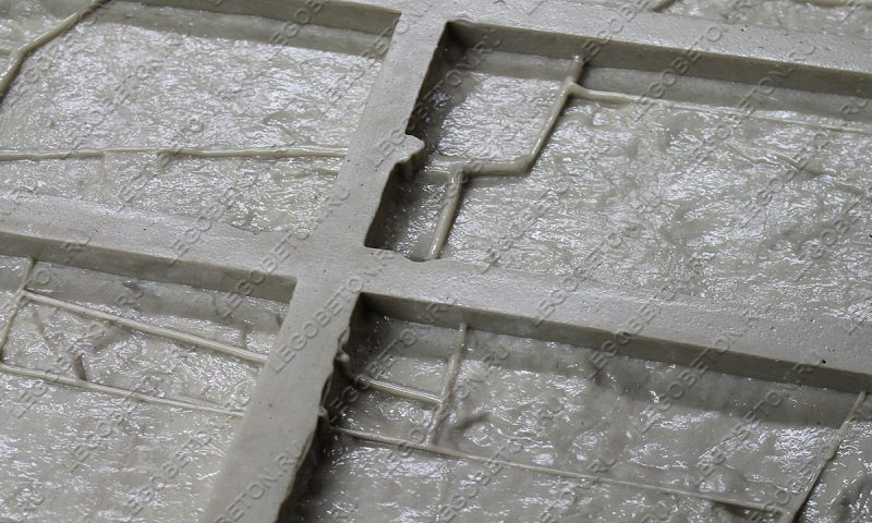 Форма для плитки под искусственный камень «Доломит (угол)» LB113-02