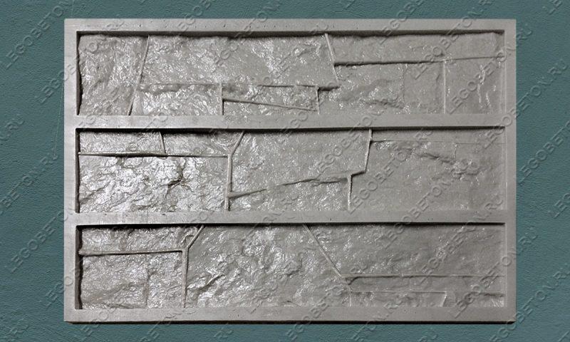 Форма для плитки под искусственный камень «Доломит (тонкий-1)» LB114-01