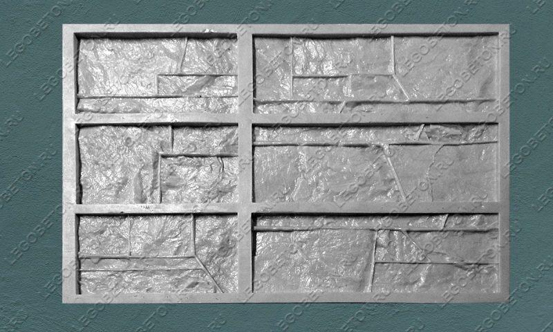 Форма для плитки под искусственный камень «Доломит (тонкий-2)» LB115-01
