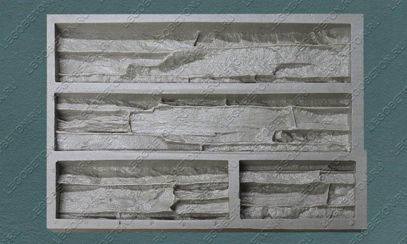Форма для плитки под искусственный камень «Известняковая груда — 1» LB120-02