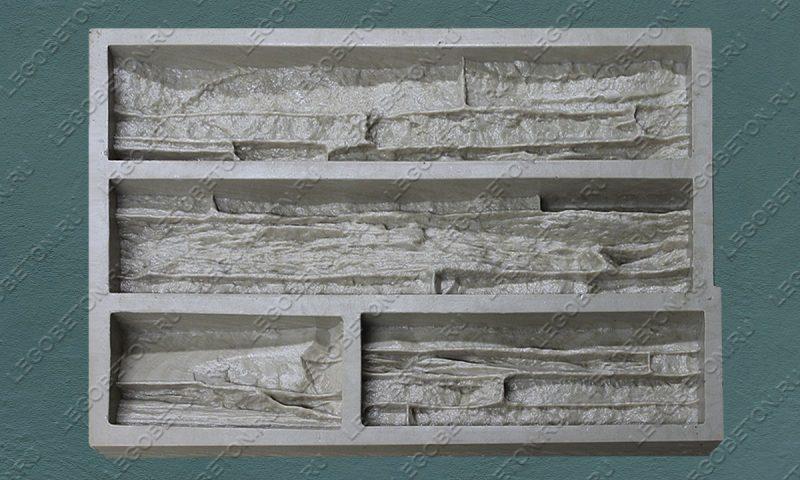 Форма для плитки под искусственный камень «Известняковая груда — 2» LB121-01