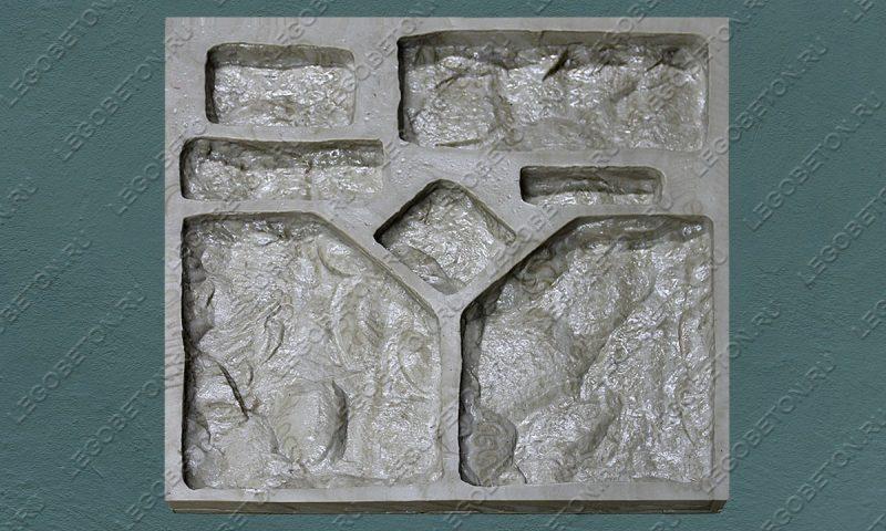 Форма для искусственного камня «Утес -2» LB131