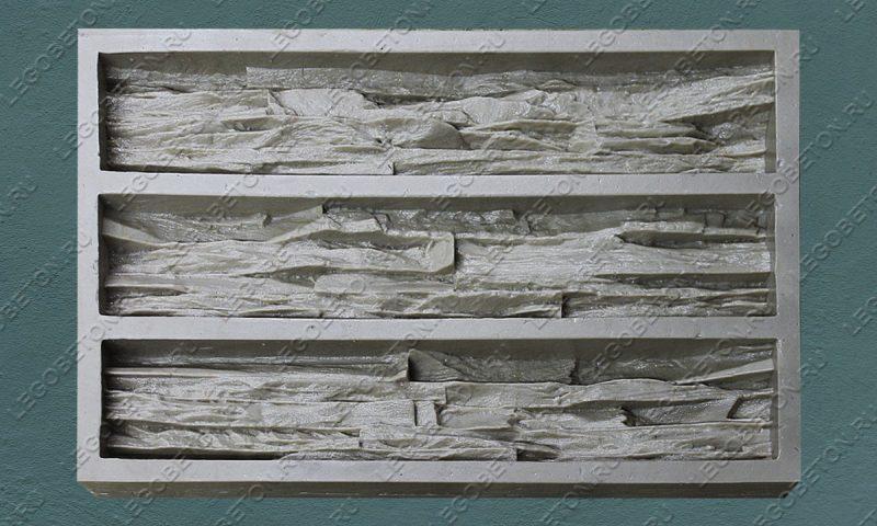 Форма для плитки под искусственный камень «Ортика» LB170-02