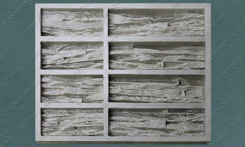 Форма для плитки под искусственный камень «Ортика (угол)» LB171-01
