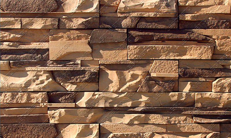 Форма для плитки под искусственный камень «Тонкий пласт — 3» LB182-02