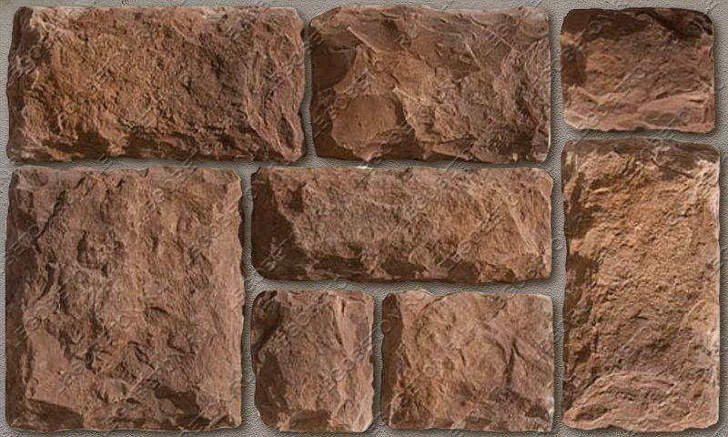 Форма для декоративного камня «Бут — 1» LB190-01