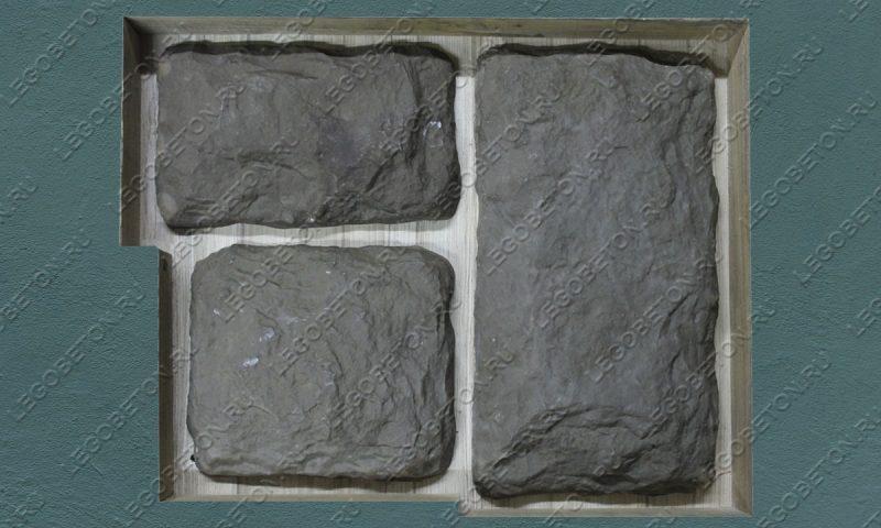 Форма для декоративного камня «Бут — 3» LB192-01