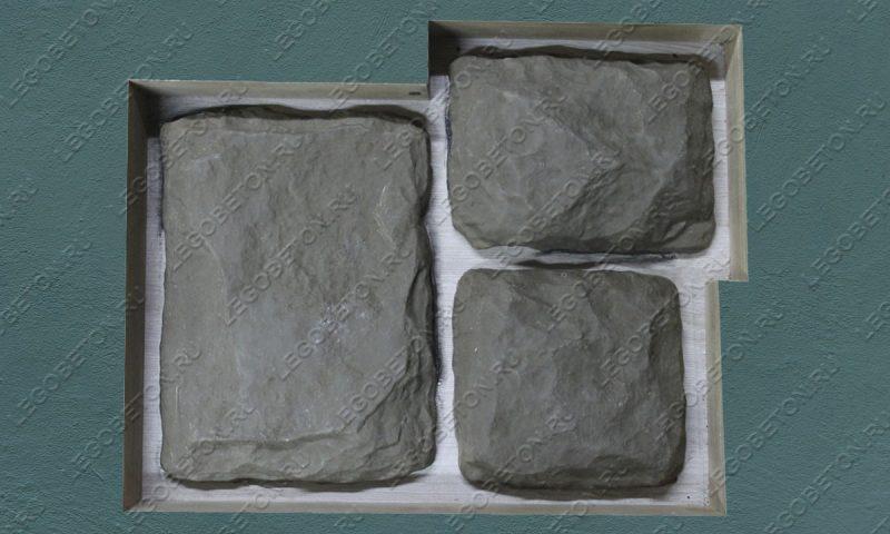 4.046. Форма для декоративного камня «Бут — 4» LB193-01