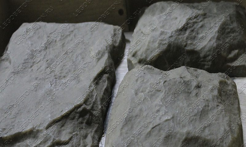 4.046. Форма для декоративного камня «Бут — 4» LB193-02