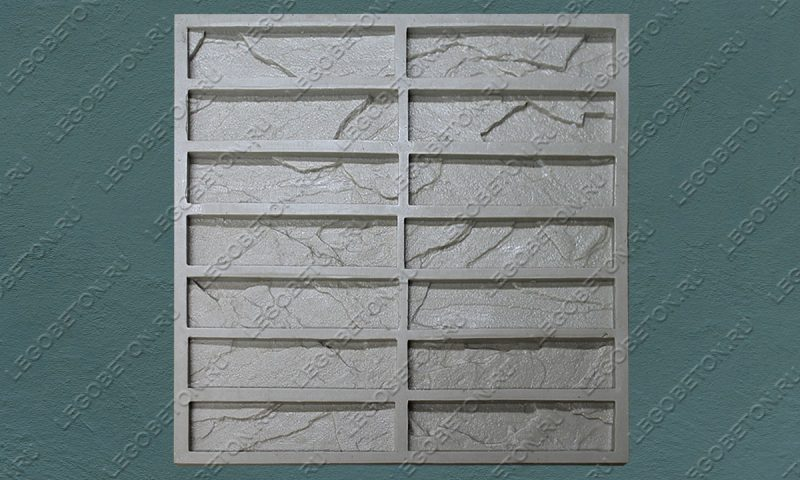 Форма для плитки под декоративный камень «Скальник» LB200-02