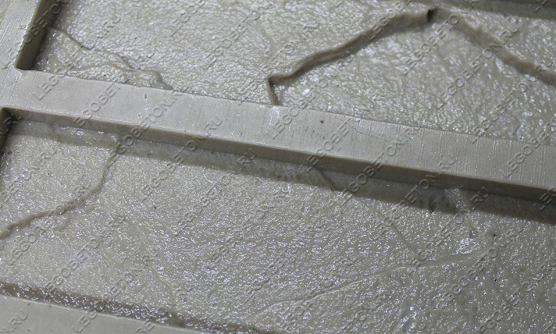 Форма для плитки под кирпич «Колотый» (большая)-03